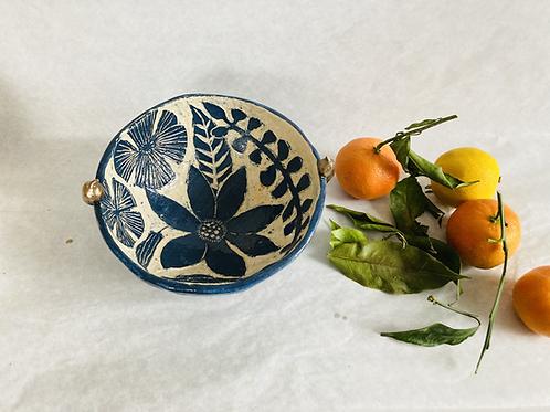BLUE GARDEN bowl