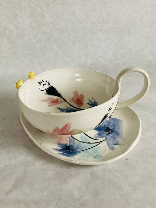 WINDOW VIEW teacup