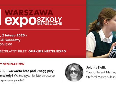 Zapraszamy na Expo Szkół Niepublicznych