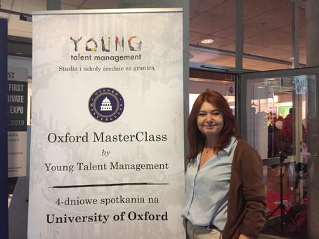 Oxford MasterClass na Targach Szkół Niepublicznych