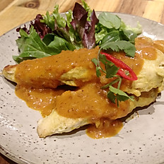 Satay Chicken Skewers  2pc