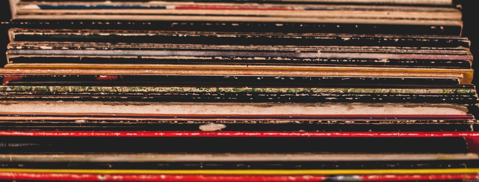 choose from an eclectic mix of vinyl...or bring your own!