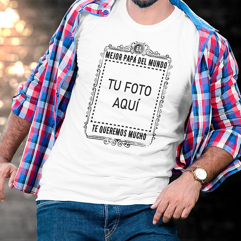 POLERA MEJOR PAPÁ DEL MUNDO