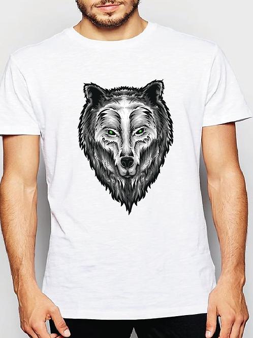 Polera Hombre Wolf