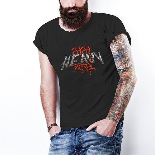 Polera Papa Heavy Metal