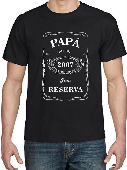 Papá Gran Reserva desde... (indicanos el año de nacimiento de tu hij@)