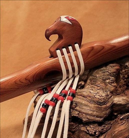 Pacific Northwest  'Eagle'  Cedar Native American Flutes