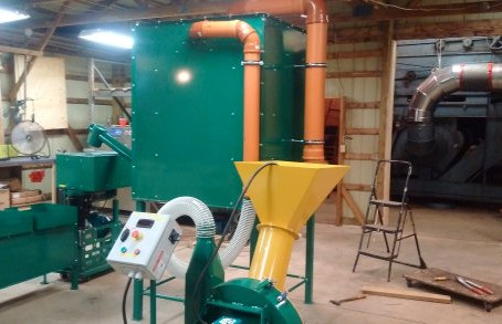 Our new Pellet Mill