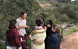 medicinal edible plant foraging walk Ibiza