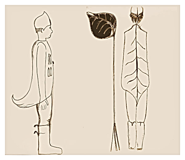 schets bladgoud kostuum 01.jpg