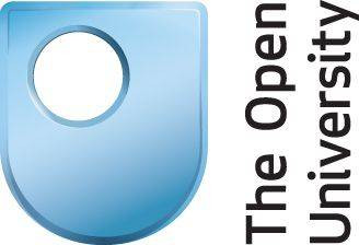 Logo of the Open University. It is a U with a small O inside it.