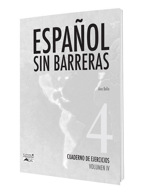 ESPAÑOL SIN BARRERAS #4  CUADERNO / NS1