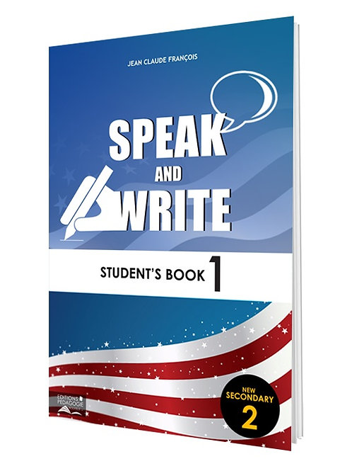 SPEAK AND WRITE #1  (STUDENT'S BOOK) / NS2
