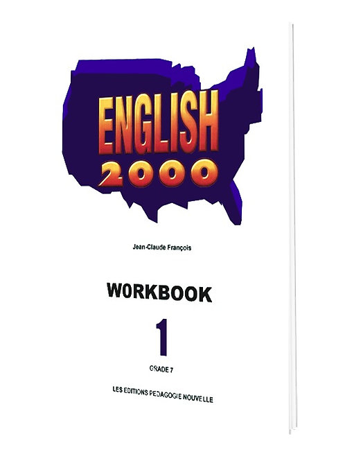 ENGLISH 2000 #1 (WORKBOOK) / 7e AF
