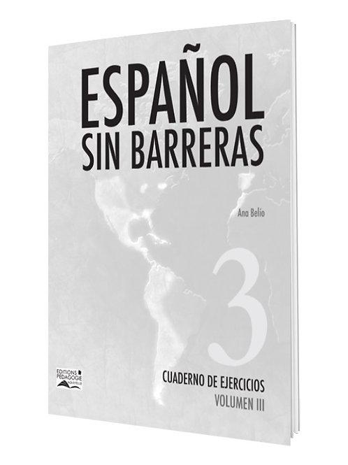 ESPAÑOL SIN BARRERAS #3 CUADERNO 9e AF