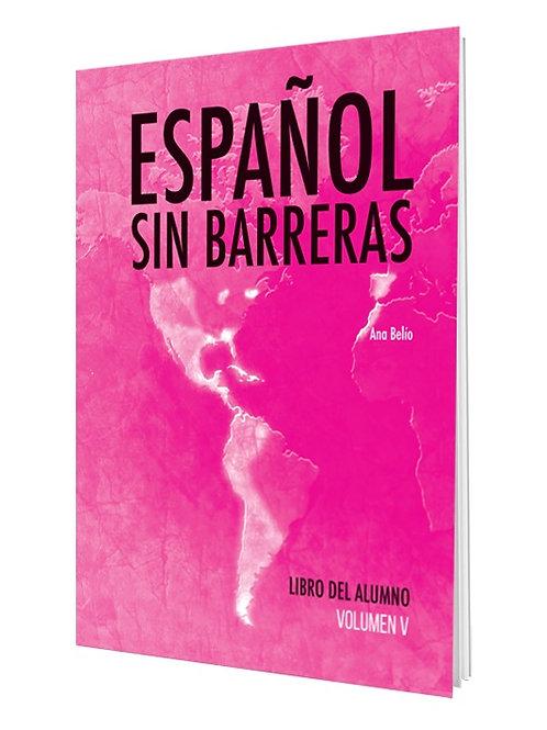 ESPAÑOL SIN BARRERAS #5  LIBRO / NS2