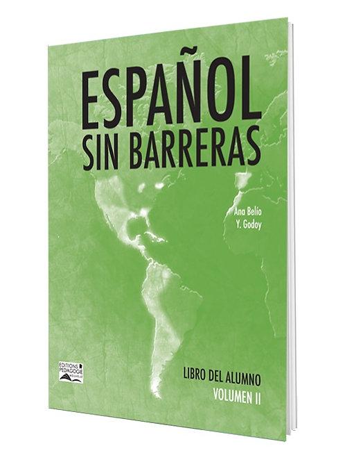 ESPAÑOL SIN BARRERAS #2 LIBRO / 8e AF