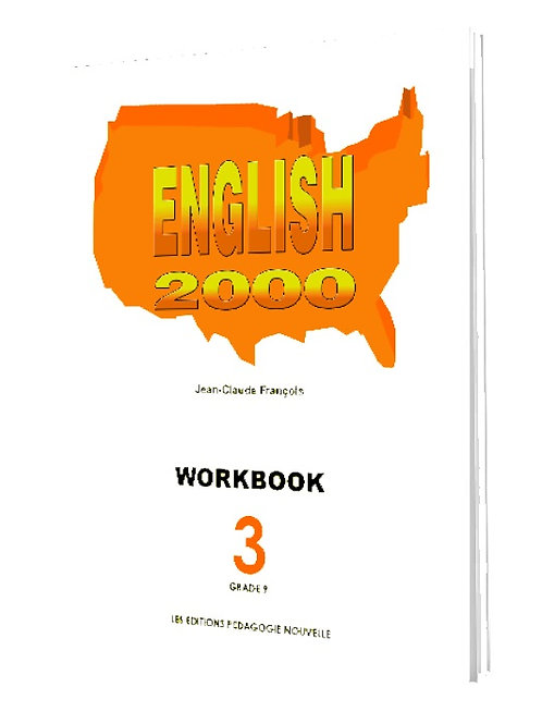 English 2000 #3 (WORKBOOK) / 9e AF