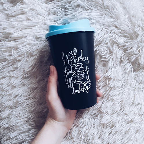 Serpent & Dove coffee mug