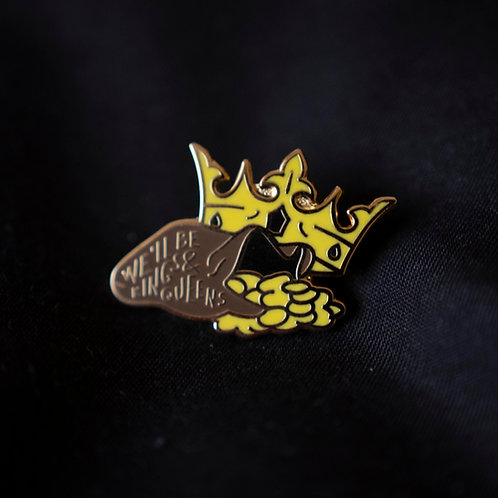 CROWS Enamel pin