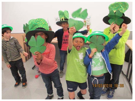 St Patrick's Day au Mini Club d'Anglais