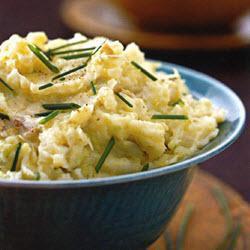 Recette Colcannon (Purée de pommes de terre et choux)
