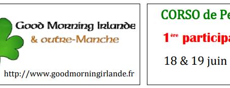 Good Morning Irlande a fait son 1er Corso Fleuri de PERTUIS en Juin 2016