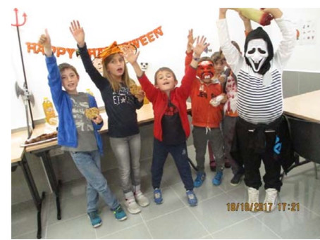 Fête d'Halloween au Mini-Club d'Anglais