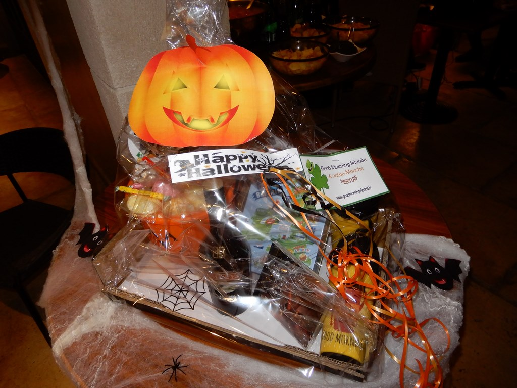 tombola le patio halloween good morning irlande  pertuis 2017