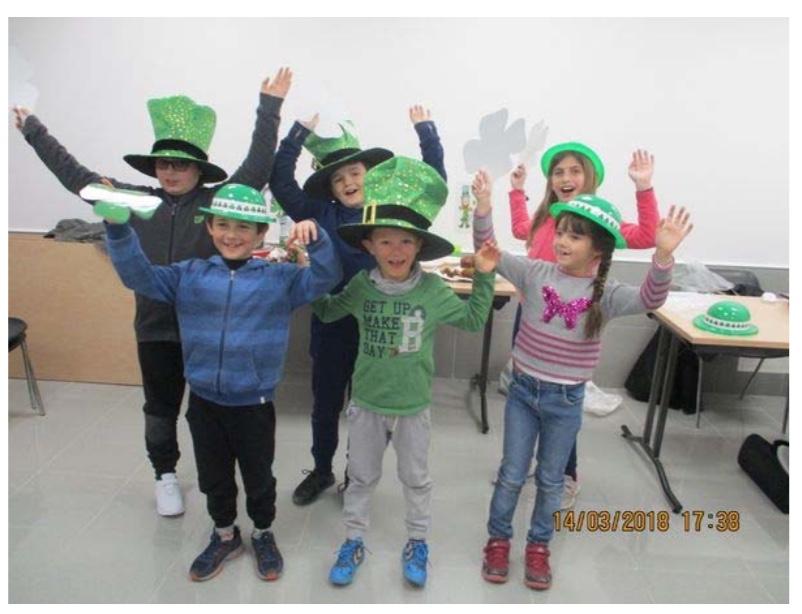 Saint Patrick Mini club anglais pertuis 2018 5