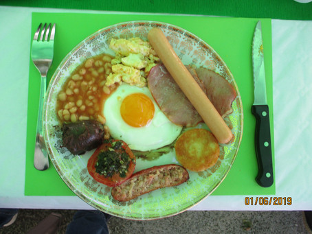 Full Irish Breakfast 2019