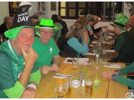 St Patrick's Day des adhérents