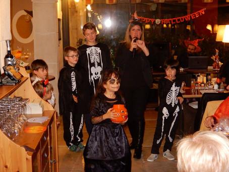 Soirée Halloween en famille 2017