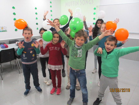 Saint-Patrick's Day au Mini-Club Anglais 2019