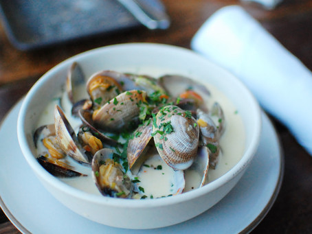 Recette Cockels & mussels soup (Soupe aux coques et aux moules)