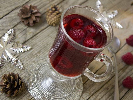Recette Red fruit tea punch (Thé au fruits rouges)