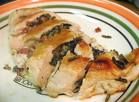 Recette Stuffed Chicken (Poulet farci)