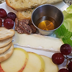 Brie and Fruit Plate