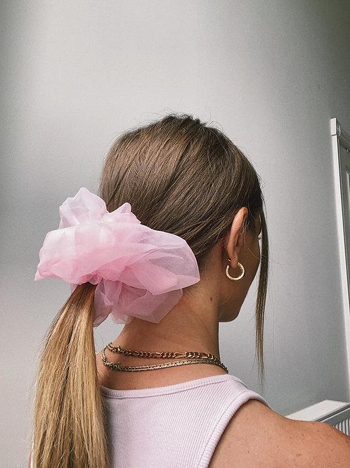 Pink Giant Scrunchie