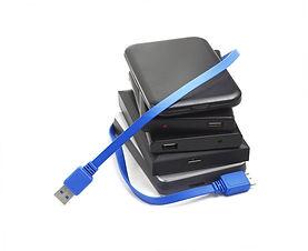 HDs externos USB e Firewire