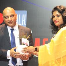 Felicitating Mr. Prashant Mali