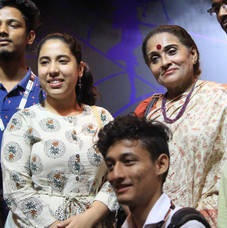 Dr. Jayanti Dutta with students