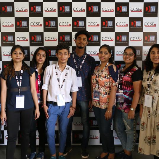 Students attending D-Talk Series 1