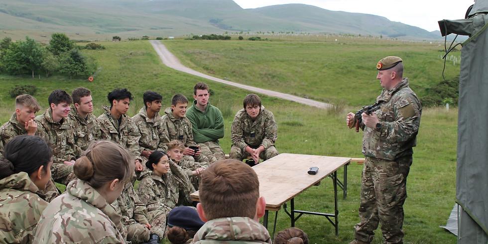 Military Skills Training Day