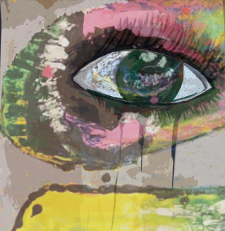 Untitled Eye Painting