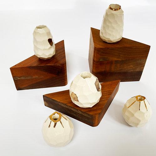 Set of 5 Mini Vases