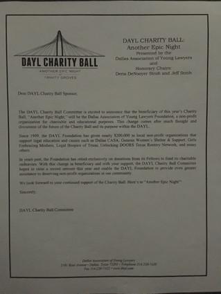 Dayl Charity Ball