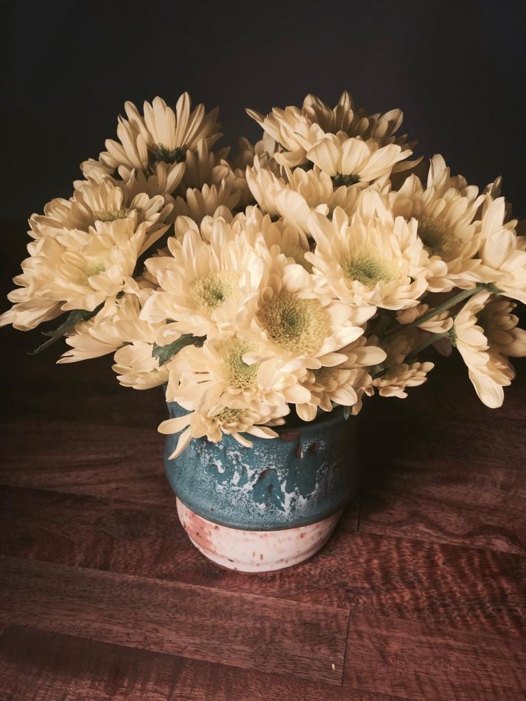 High fire ceramic vase