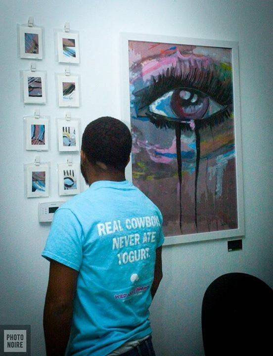 Solo Art Show Dallas Tx, Deep Ellum Artist Jessica Bell