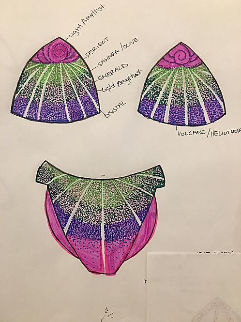 figure : Ombré shell